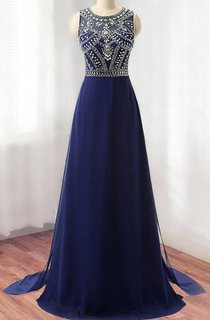 Chiffon Dress With Beading