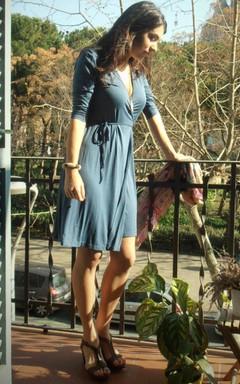 On Classic Wrap Taupe Wrap Elegant Beige Brown Dark Beige Wrap Viscose Jersey Wrap Kaki Wrap Dress