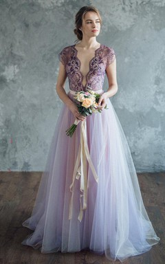 Lilac Wedding Serenity Dress