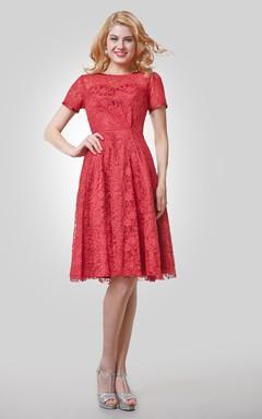 Modest Evening Dresses, Conservative Cocktail Gowns - June Bridals