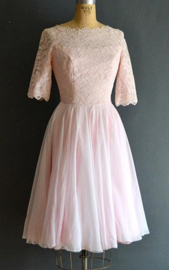Marsha 60S Cahill Wedding Short Wedding Dress