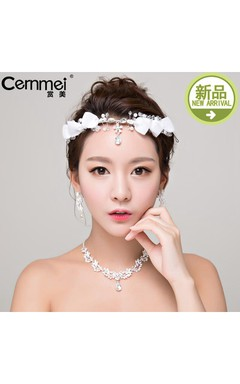 Bride Headdress Korean Hand Trims Wedding Day Out Wedding Dress Accessories
