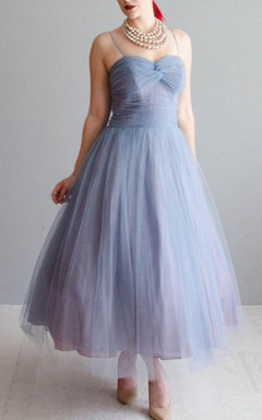 Vintage 1950S Party Tulle 50S Wanderlust Tulle Dress