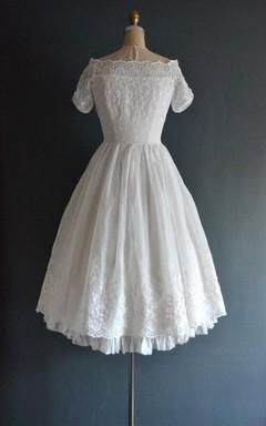 Langley 50S Wedding Short Wedding Dress