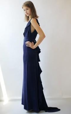 Midnight Blue Bridesmaid Dresses | Navy Bridesmaid Dresses - June ...