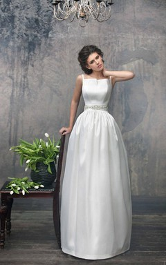 Simple Long Gown Luxury Dress