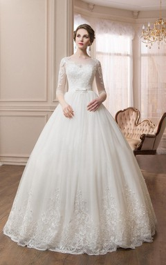 Long Sleeve Wedding Dresses- Modest Wedding Dresses - June Bridals