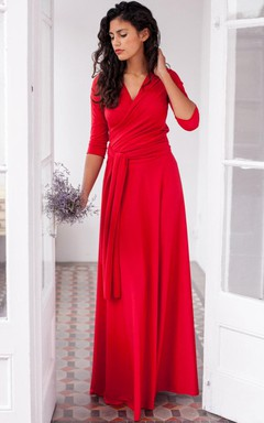 Red Bridesmaid Dresses | Coral Bridesmaid Dresses