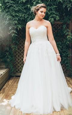Informal Plus Size Wedding Dresses- Casual Plus Size Bridal Gowns ...