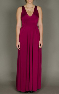 Wine Color Maxi With Suture Seams Designer Evening Evening Gown Bridesmaid Prom Cocktail Sexy Dress