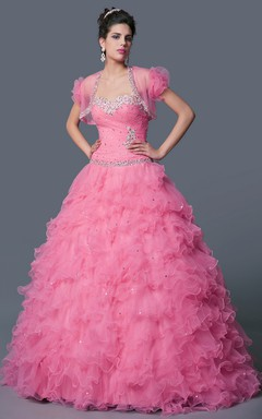 Poof Skirt Multiple Ruffle Layers Beautiful Princess Birthday Gown Pretty