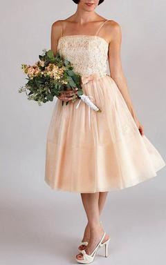 Pink Bridesmaid Vintage 1950S Party Dress