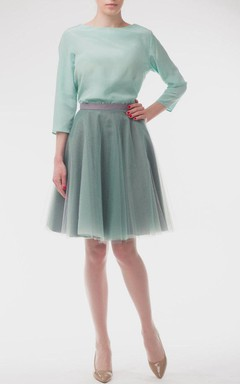 Tutu Skirt Mint Tulle Dress