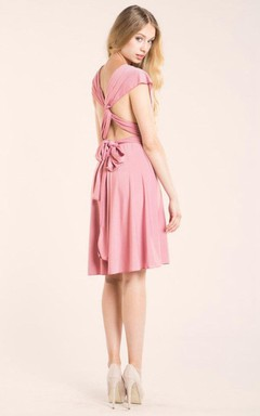 Knee Length Infinity Dress