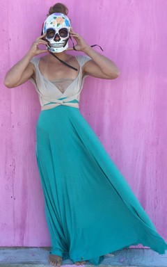 Jersey&Satin Stunning New Arrival Dress