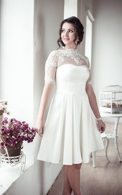 Plus Size Short Wedding Dresses on Sale - June Bridals