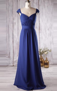 Cobalt Blue Bridesmaid Dresses- Electric Blue Bridesmaid Dresses ...