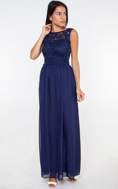 Bridesmaid Navy Blue Long Bridesmaid Navy Lace Bridesmaid Dark Blue Bridesmaid Lace Bridesmaid Navy Bridesmaid Chiffon Dress