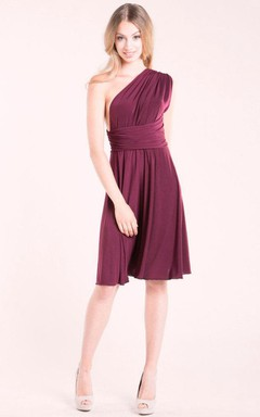Short Knee-length Jersey Dress