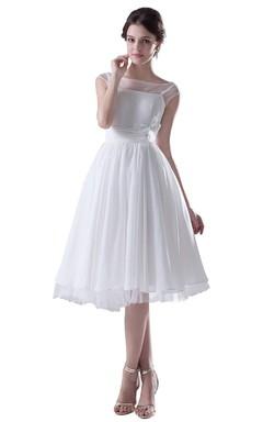 Sleeveless Midi-length Pleated Chiffon Dress