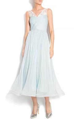 Bohemian Wedding Beach Wedding Wedding Gown Boho Wedding Lace Wedding Silk Wedding Aqua Silk Dress