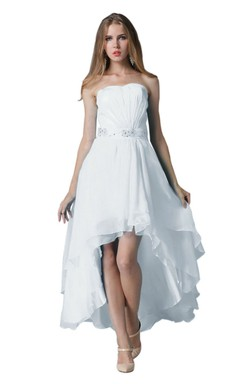 High lo hemline bridesmaids dresses hi low dress for for Hi lo hemline wedding dresses