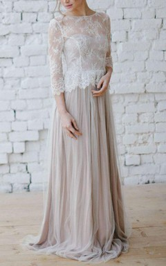 Wedding Beige Dream Dress
