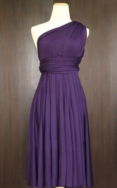 Short Grape Infinity Convertible Multiway Dress