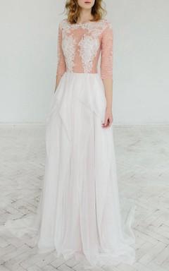 Blush Wedding Rosy Iris Dress