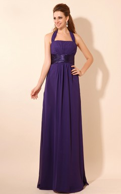 Charming Strapless Maxi Backless Dress With Draping