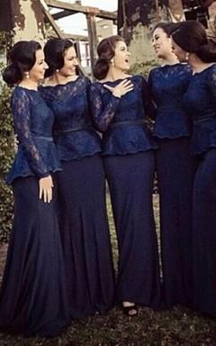 Long Blue Dresses