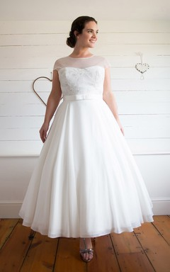 Plus Size Short Wedding Dresses on Sale - JuneBridals