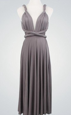 Short Evening Prom Gowns Grey Formal Short Formal Infinity Wrap Formal Formal Knee Length Dress