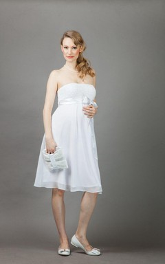 Annie Maternity Wedding Weddig Dress