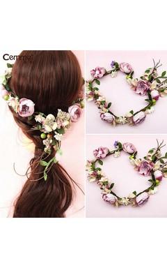Bride Headdress Wreath Spring Line Senao Hair Hair Studio Photo Seaside Holiday Wedding Jewelry