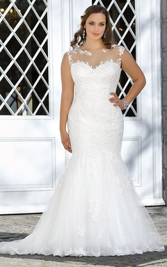 Wedding Gowns for Plus Sized, Cheap Full Figured Bridal Dresses ...