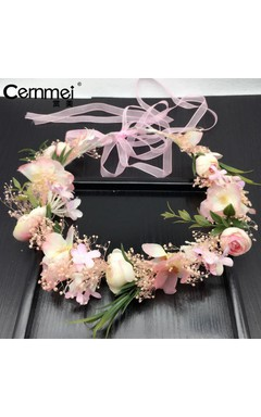 2017 New Wreath Travel Go Out Accessories High Quality Dry Flower Studio Bridal Jewelry