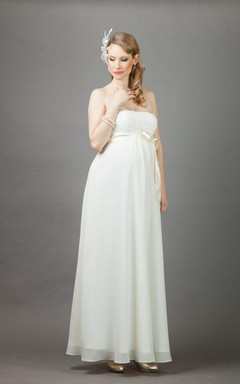 Maternity Bridal Dresses, Pregnant Bride Wedding Gowns - June Bridals