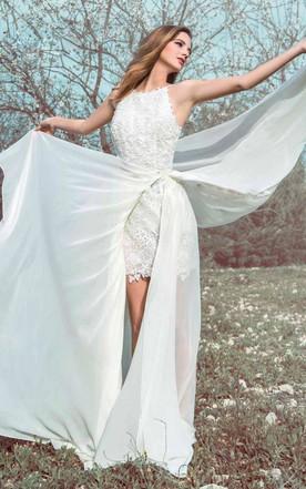 Flowy Wedding Gowns | Chiffon Wedding Dresses - June Bridals