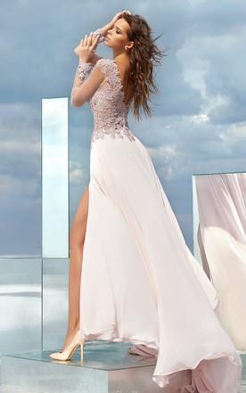 Boho Style Prom Dress Bohemian Formal Dresses June Bridals
