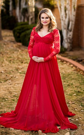 Maternity Bridesmaid Gowns Pregnant Nursing Dresses For