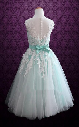 Ballerina Length Wedding Dresses, Tea Length Wedding Dresses - June ...