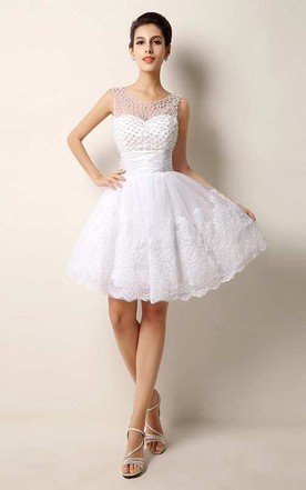White Short Prom Dresses | Homecoming Gowns - June Bridals