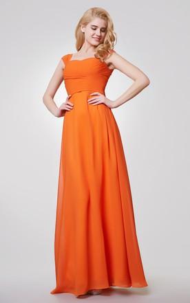 Orange & Tangerine Bridesmaid Dress - June Bridals