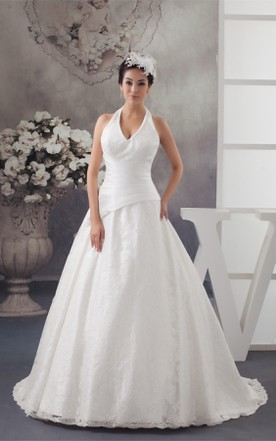 Haltered Wedding Dress | Wedding Dress By Neckline - June Bridals