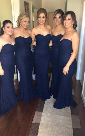 8016cbf458 Refined Strapless Bridesmaid Dresses, Sweetheart Bridesmaid Dresses ...