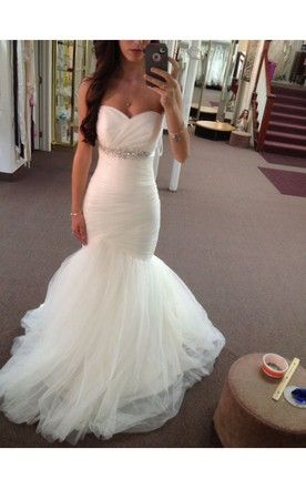 Sweetheart Mermaid Wedding Dresses | Sweetheart Trumpet Wedding ...