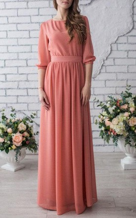 Conservative Mother of Bride Dress