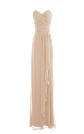 Champagne & Nude Prom Gowns | Beige Party Dresses - June Bridals