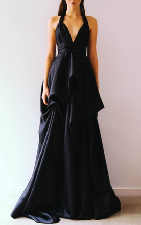 Black Samsara Gown Dress